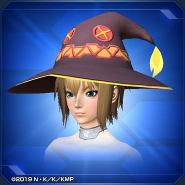 めぐみんの帽子