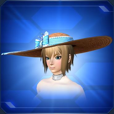 アネットの麦わら帽子