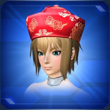 中華帽 赤