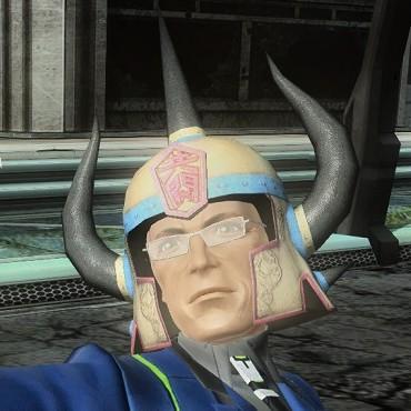 共闘先生ヘルメット