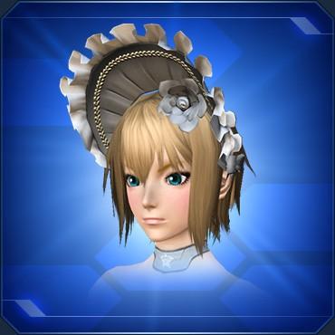 少女ハリエットの帽子