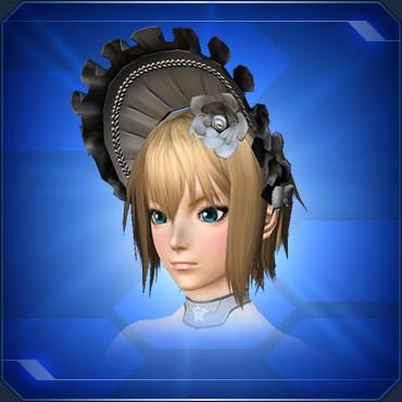 少女ハリエットの帽子B