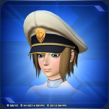 沖田艦長の帽子