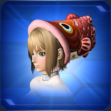 鯉のぼり帽子 赤