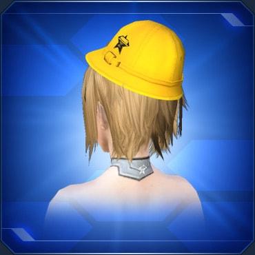 黄色通学帽