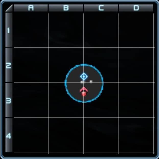 激震ミッション5のギミックマップ