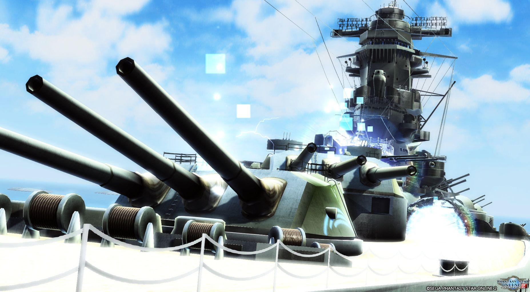 幻想戦艦大和が出る解き放たれし鋼鉄の威信